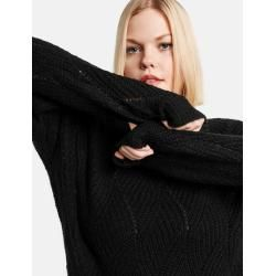 Photo of Pullover mit Strickmuster Schwarz Gerry WeberGerry Weber