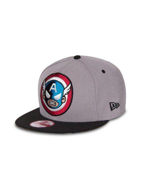 fc7e740b6f4 Amazon.com  tokidoki Men New Era Marvel 9Fifty Snapback Hat (X Quartet  Light Royal)  Clothing