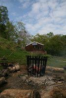 Exmoor Centre campfire