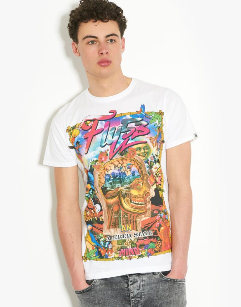 Fly53  Leary Trip T-Shirt - BANK Fashion