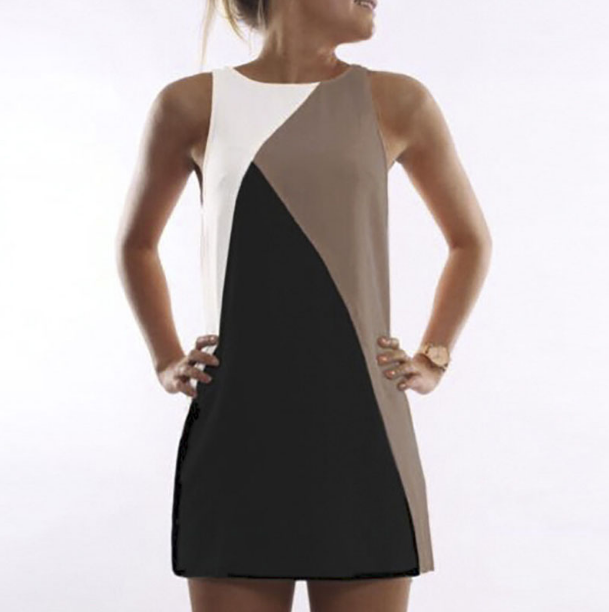 Letní dámské šaty bez rukávu černé – Velikost L Na tento produkt se  vztahuje nejen zajímavá sleva f4d5ec9d41