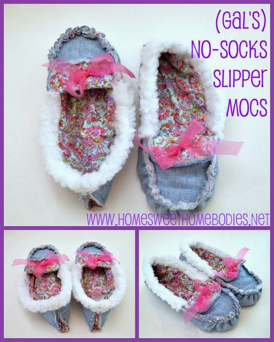 Photo of Slippers from jeans. DIY tutorial