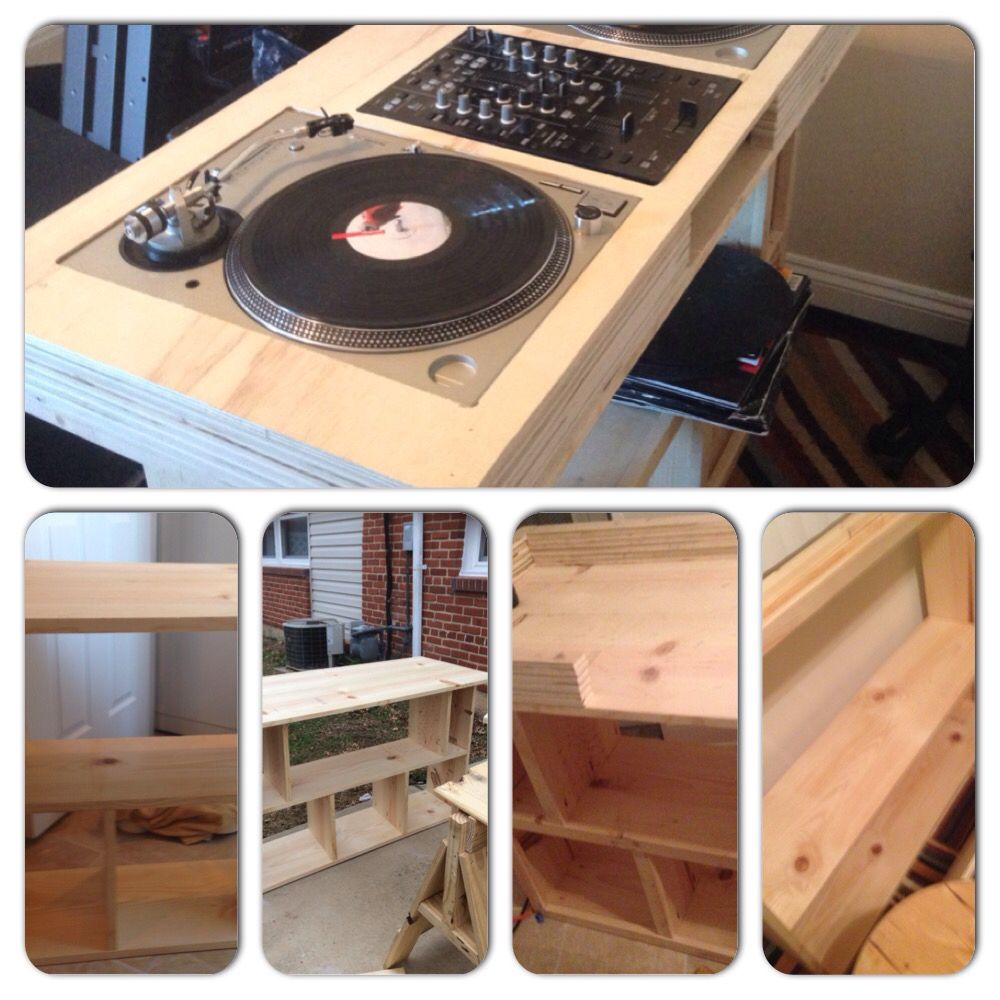 Not Complete But Almost There This Is My Diy Dj Booth