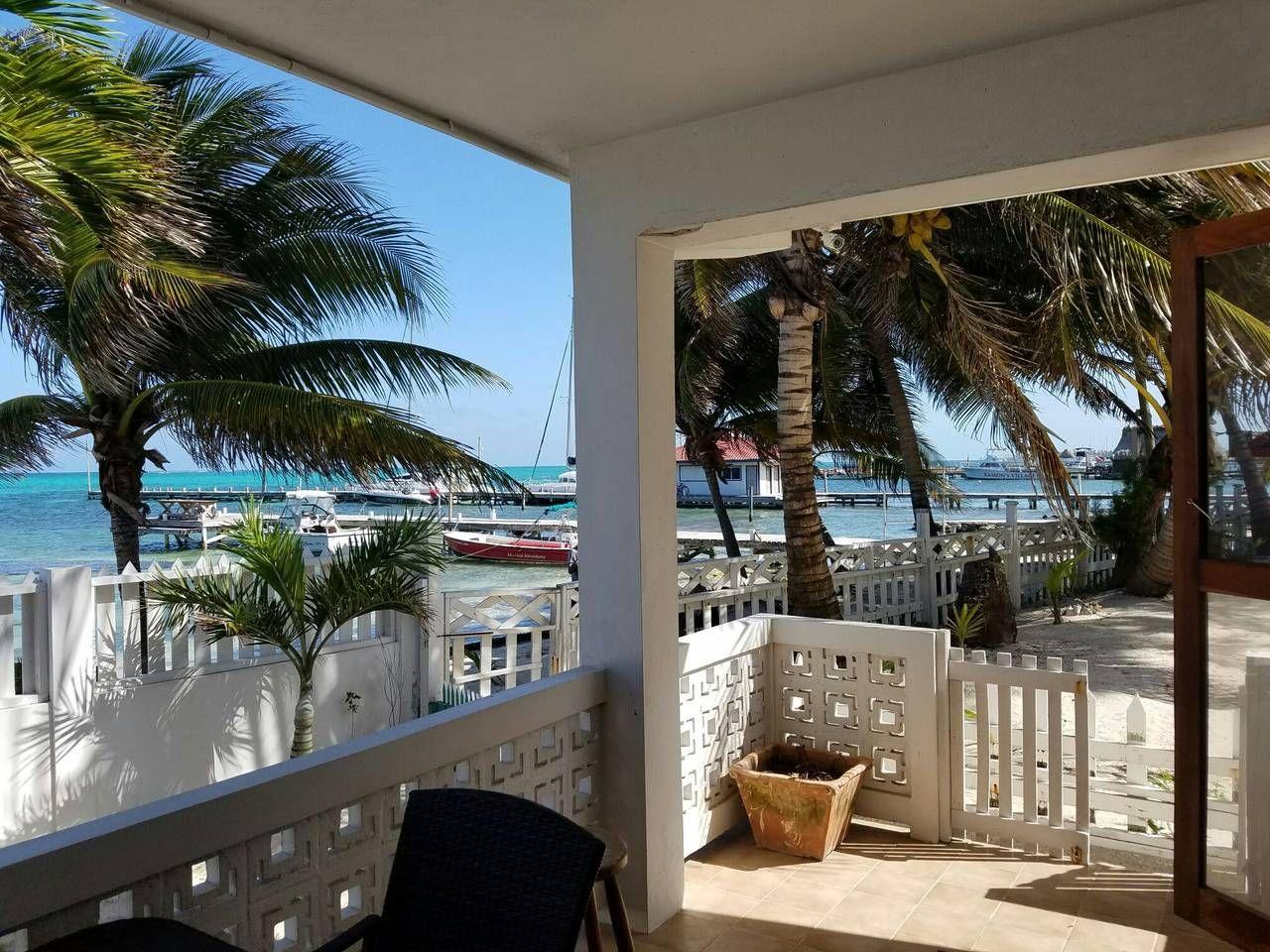 Beach House San Bedro Belize View