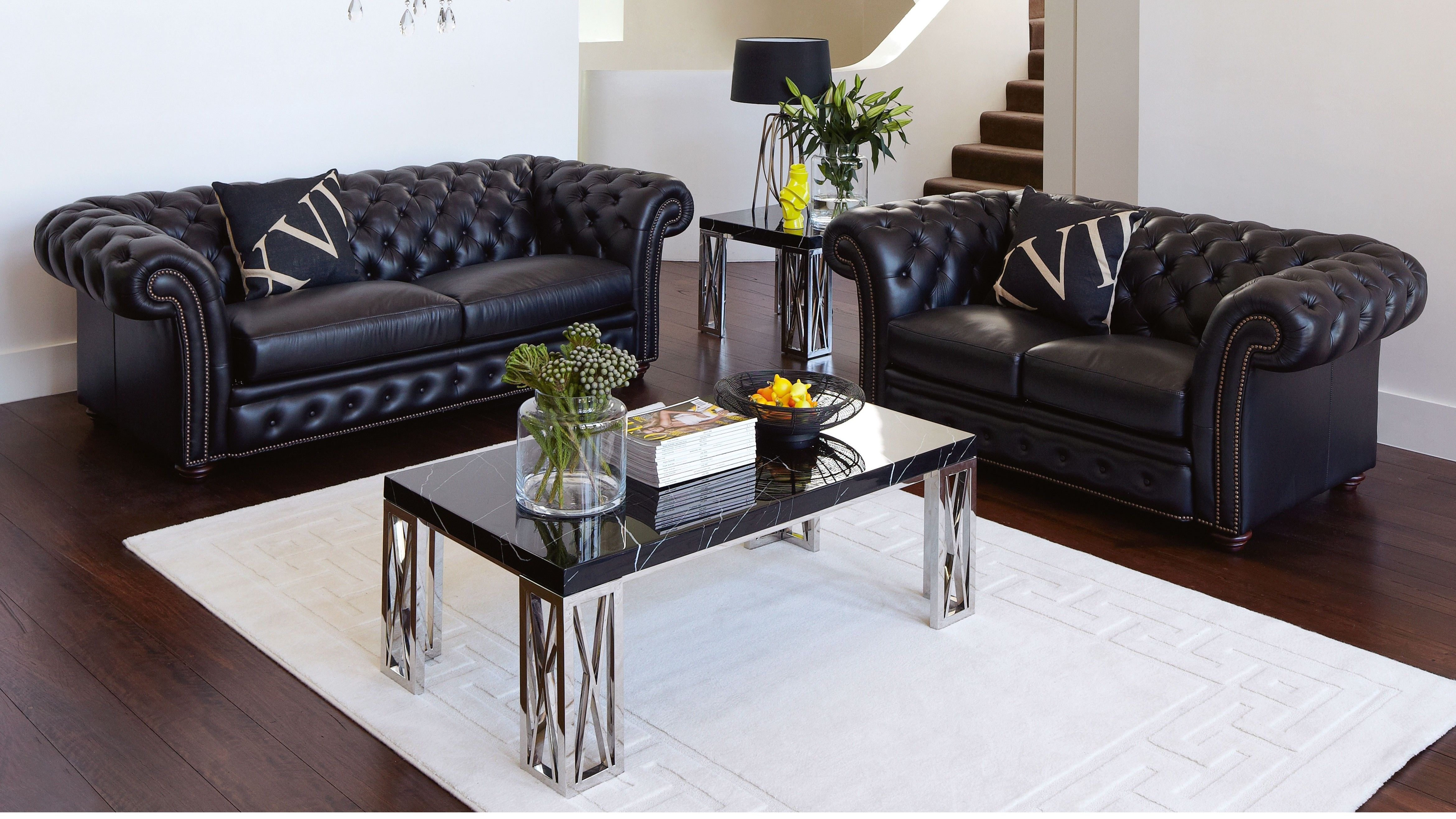 Westminster Leather Lounge Suite - Old school lounges | Dream house ...