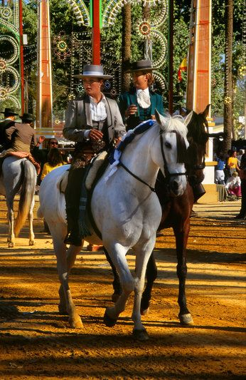 The famous Horse Fair in Jerez, Spain  http://www.costatropicalevents.com/en/cultural/city.html
