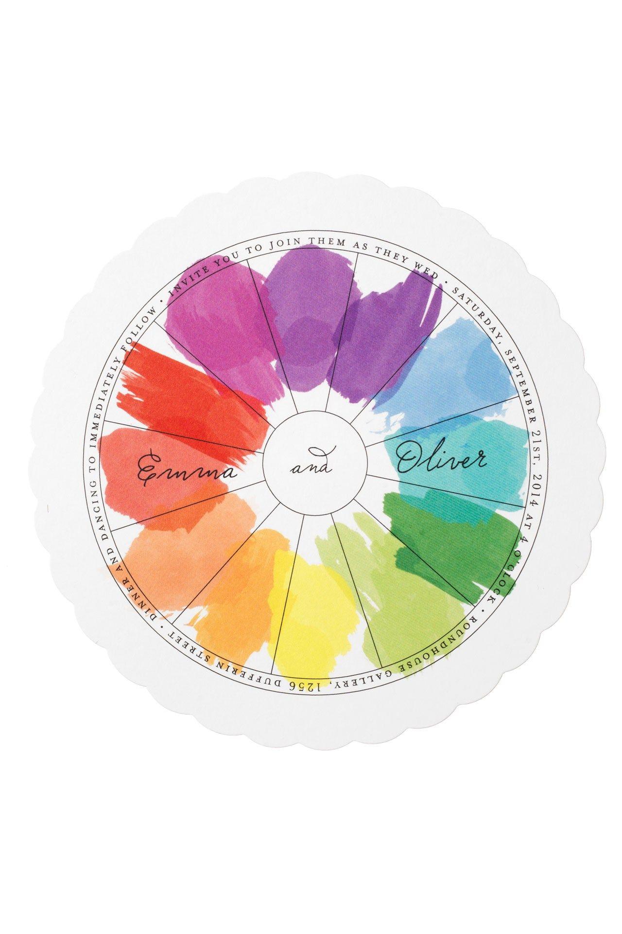 Rainbow-Themed Wedding Ideas (BridesMagazine.co.uk) (BridesMagazine ...