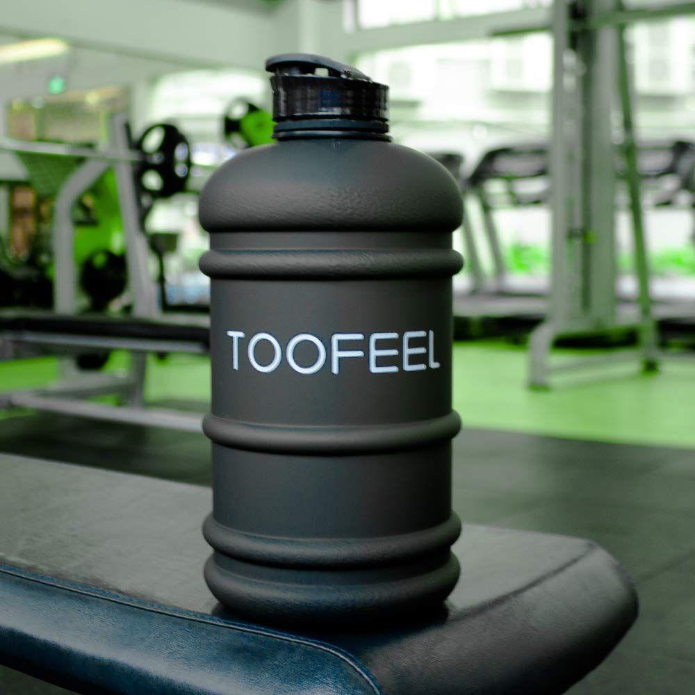 2.2L Big Water Bottle Jug 73OZ LARGE Canteens BPA Free Leakproof For Gym Fitness