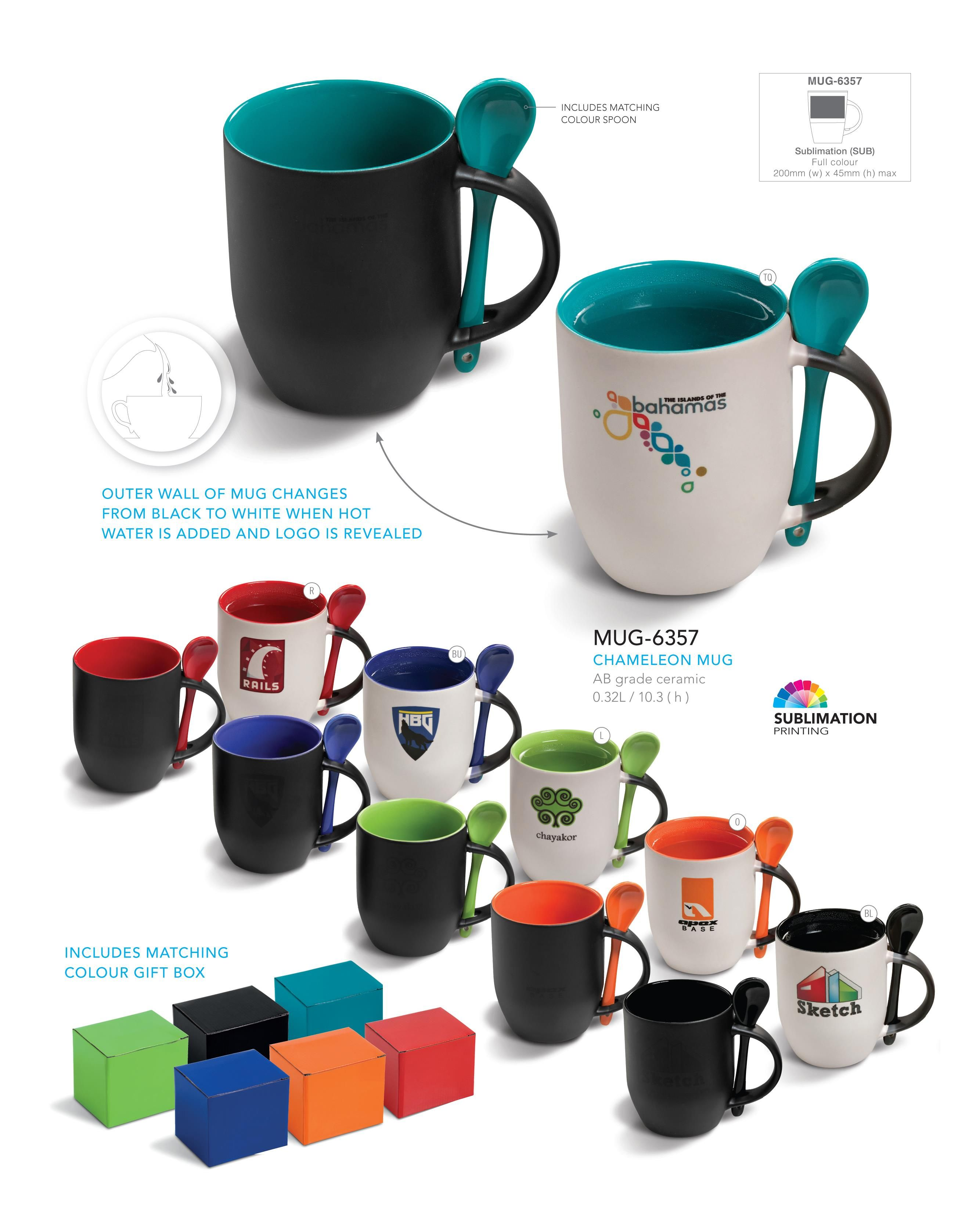 Chameleon Mug Corporate Gifts Drinkware on http//www