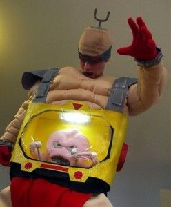 This Krang costume is the best Halloween costume we found this year!