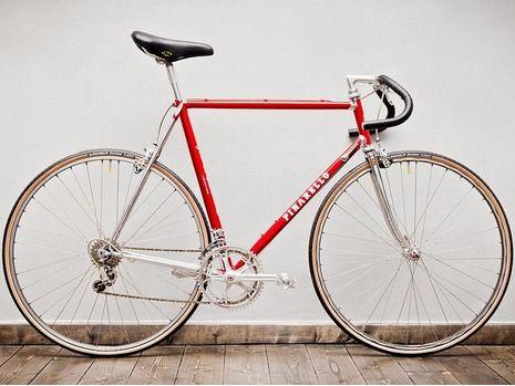 Mit Dem Vintage Rad Durch Berlin Retro Fahrrad Fahrrad Rennrad