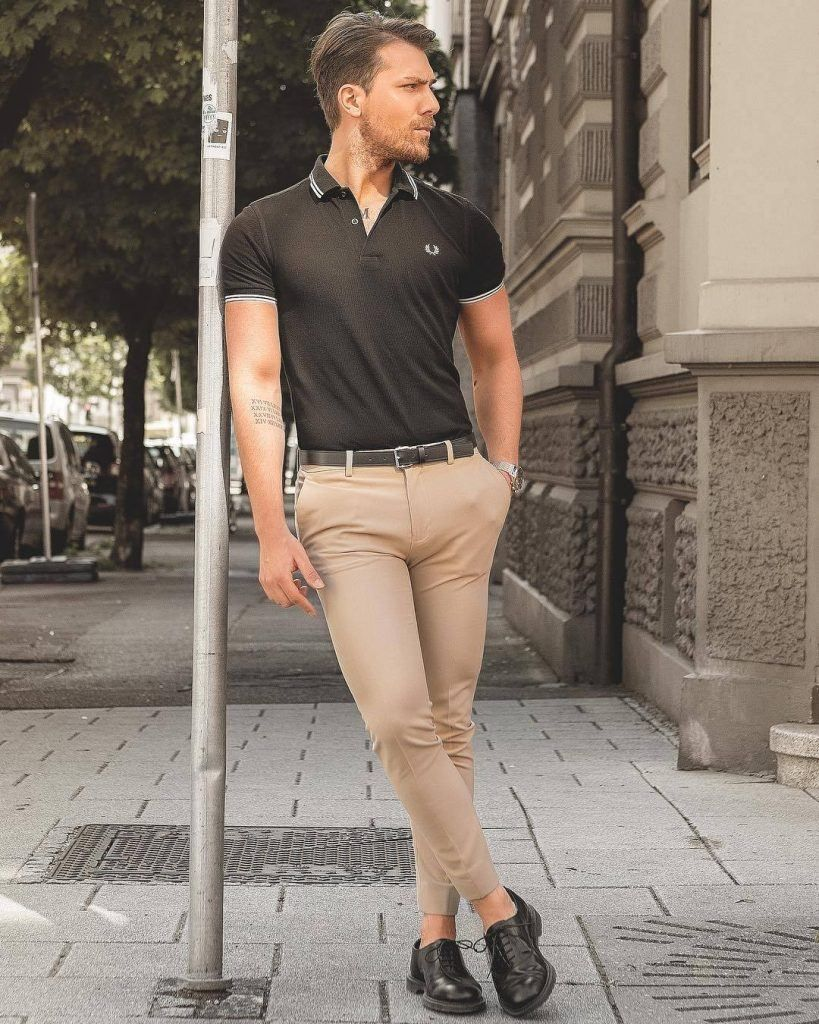 Cute Outfits For Skinny Guys Styling Tips With New Trends Polo Shirt Outfits Mens Casual Outfits Mens Outfits