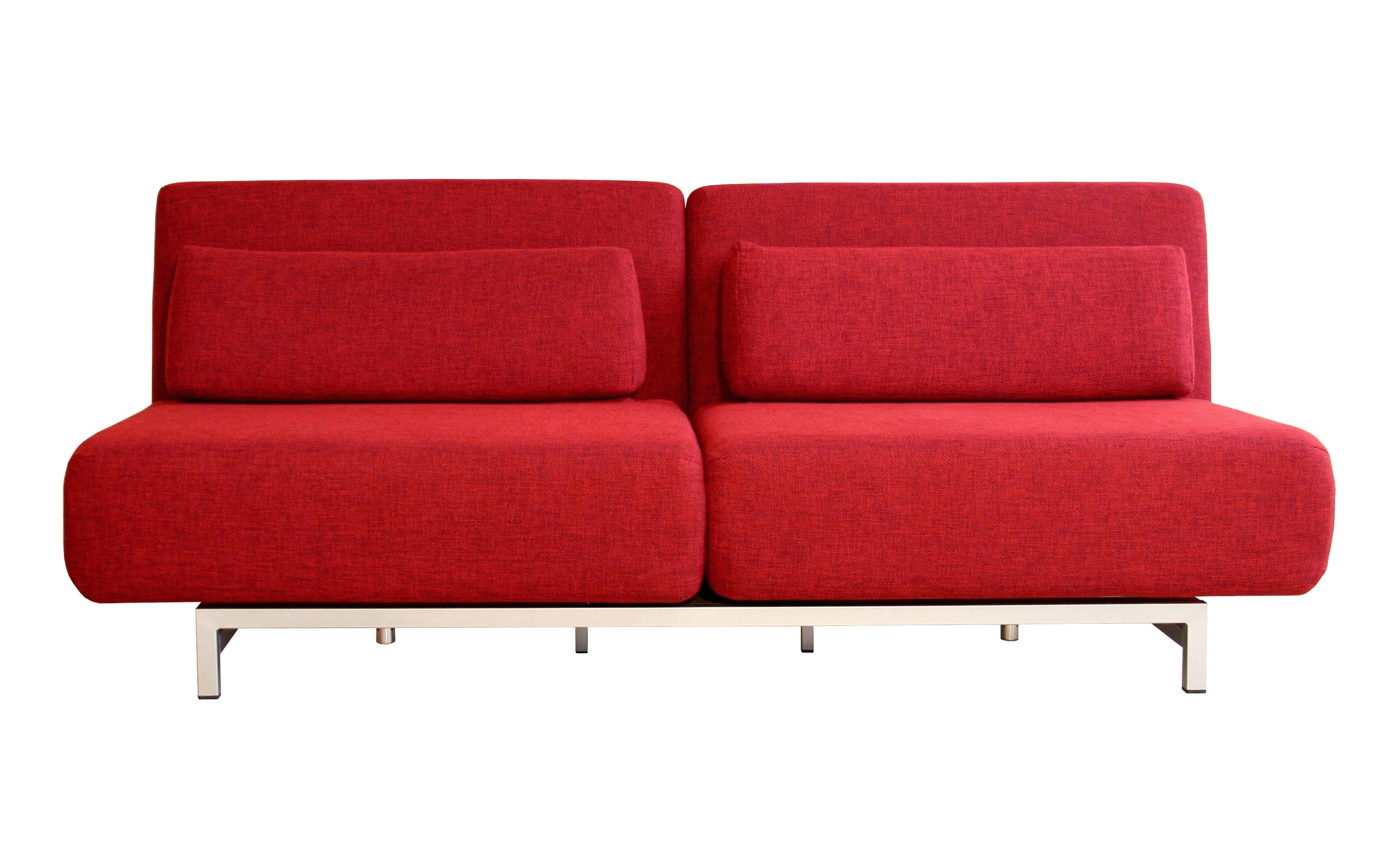 My new bed. Convertible sofa bed, Sofa bed red, Sofa bed