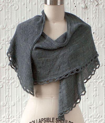 Manos Feston Wrap Knitting Pattern | knitting chales, bufandas y ...