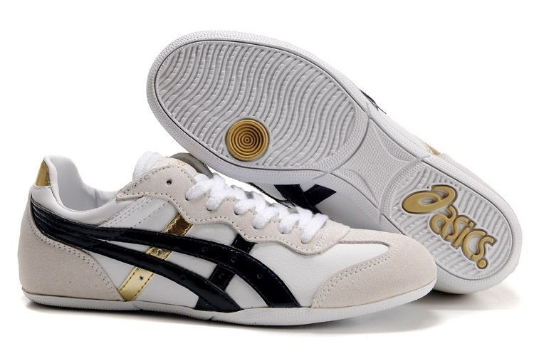 dinastía Si mecánico  Asics Whizzer Lo Womens Shoes White/Beige/Black/Gold | Black and gold  shoes, Asics, Asics running shoes womens