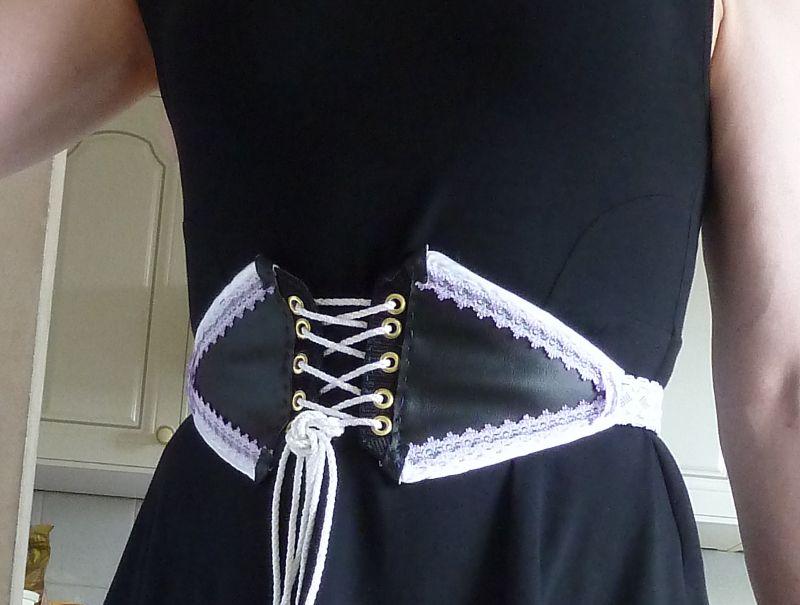 Corset belt corset belt diy goth clothes diy corset