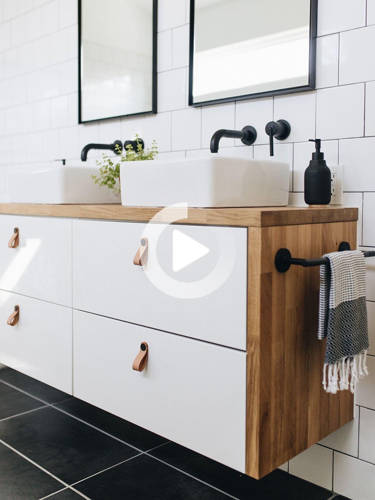 10 IKEA Hacks für kleine Badezimmer in 2020   Ikea badezimmer, Ikea, Ikea hacks