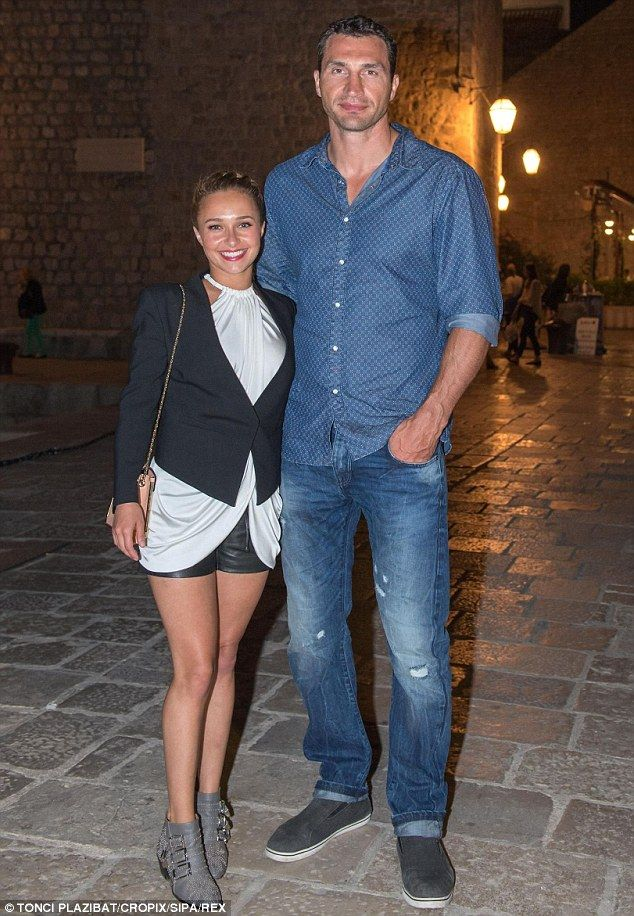 'He'll fit in anywhere!' Hayden Panettiere described her fiance Wladimir Klitschko as a 'worldly man' as the pair look to buy a house in Nas...