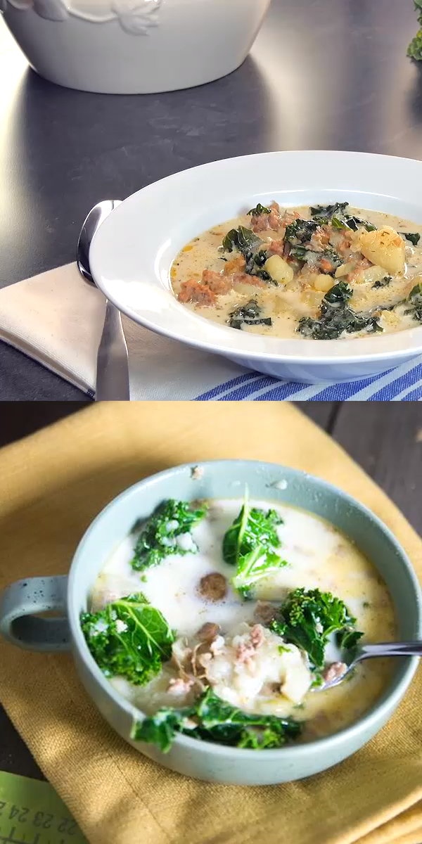 Instant Pot Zuppa Toscana This Instant Pot Zuppa Toscana is to DIE for. Super easy and delicious / Instant Pot / Pressure Cooker