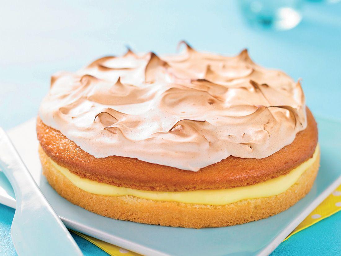Moelleux au citron meringué Crédit photo : A Point Studio / Ker Cadélac #moelleuxcitron #kercadelac #recette #gourmandise #lemon #food #diy #lemoncurd