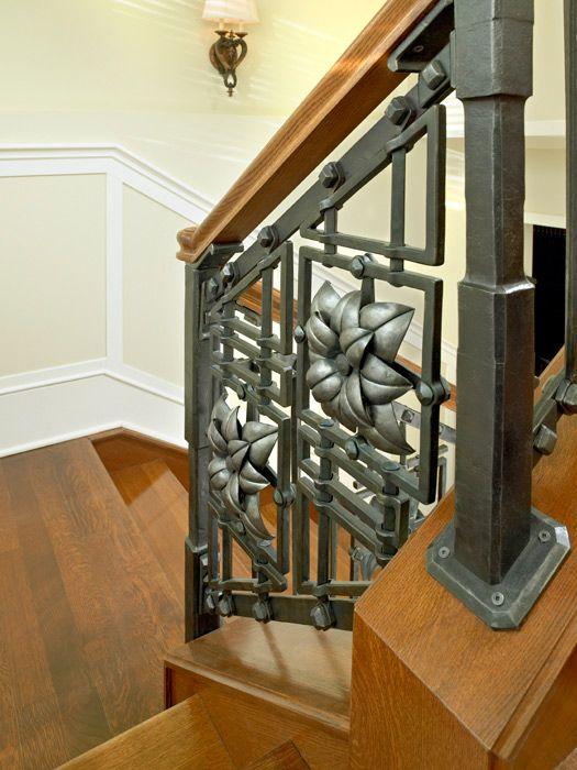 Best Architectural Lotus Railing By Artist Blacksmith Jake 640 x 480