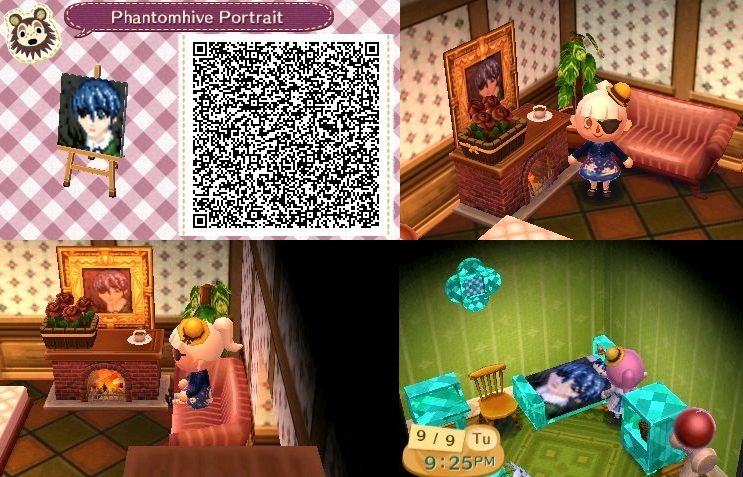 Ciel Phantomhive Design For Animal Crossing New Leaf The Bed Was An Accident By Kadence Clark Acnl Qr Code Black Animal Crossing Animal Crossing Qr Design