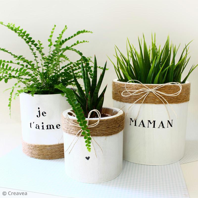 DIY : Fabriquer un cache pot pour maman - Idées conseils et tuto Fête des mères | Déco fête des ...