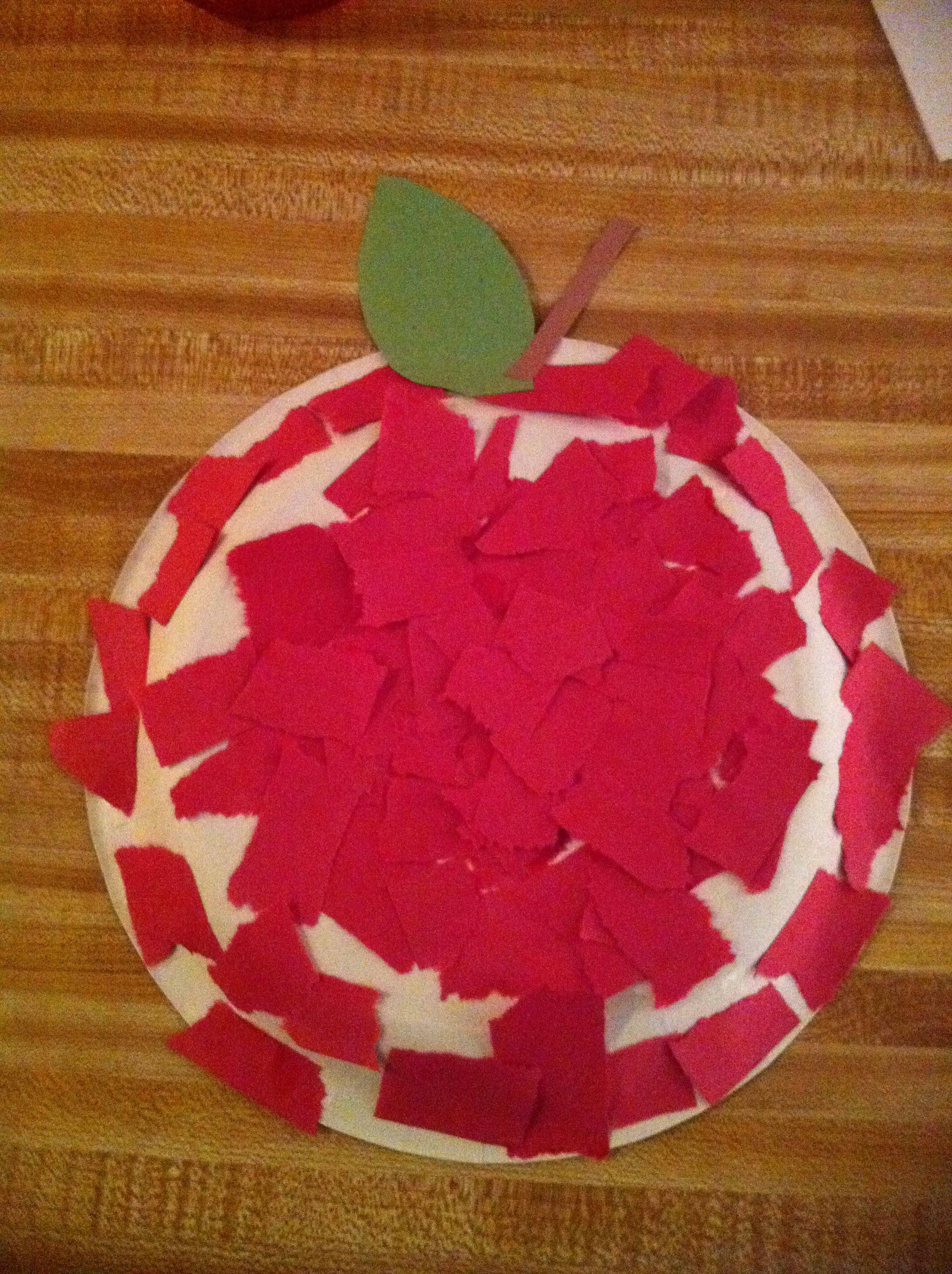 Red Art Projects For Toddlers