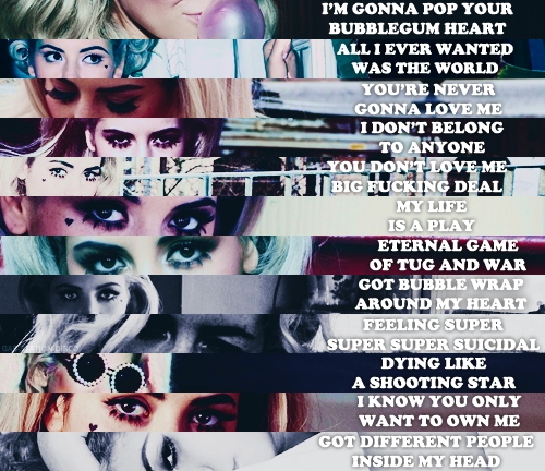 Electra Heart // Marina and the Diamonds quotes #lyrics # ...Marina And The Diamonds Song Quotes