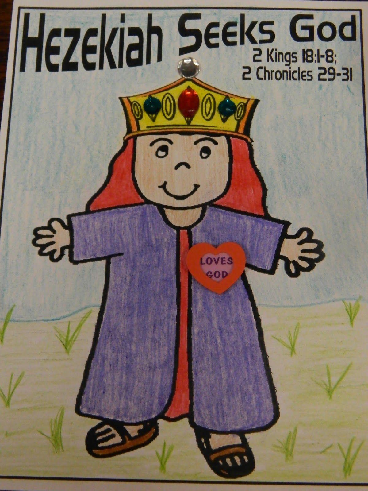 Hands On Bible Teacher King Hezekiah