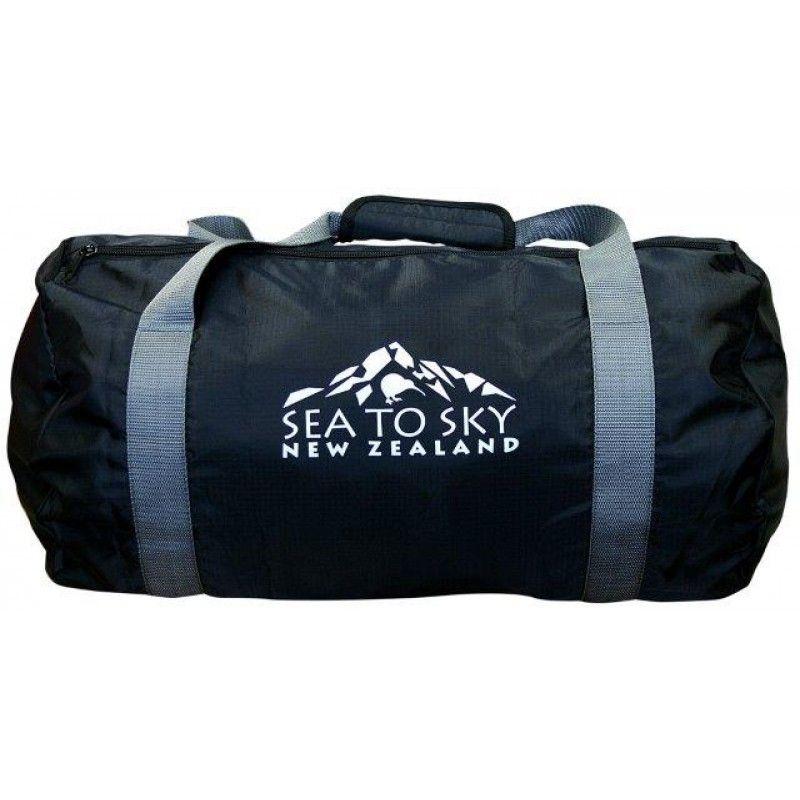 Foldable Travel Bag Black Sports Bag.28 Litre