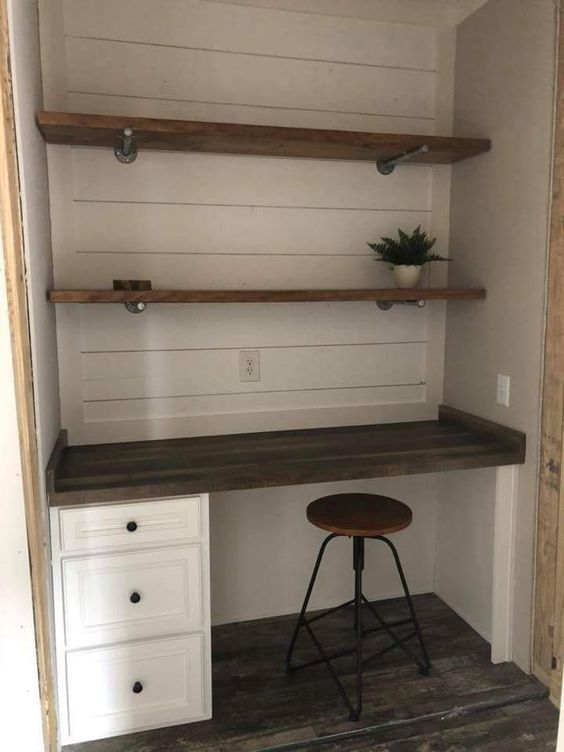 14 diy Shelves desk ideas
