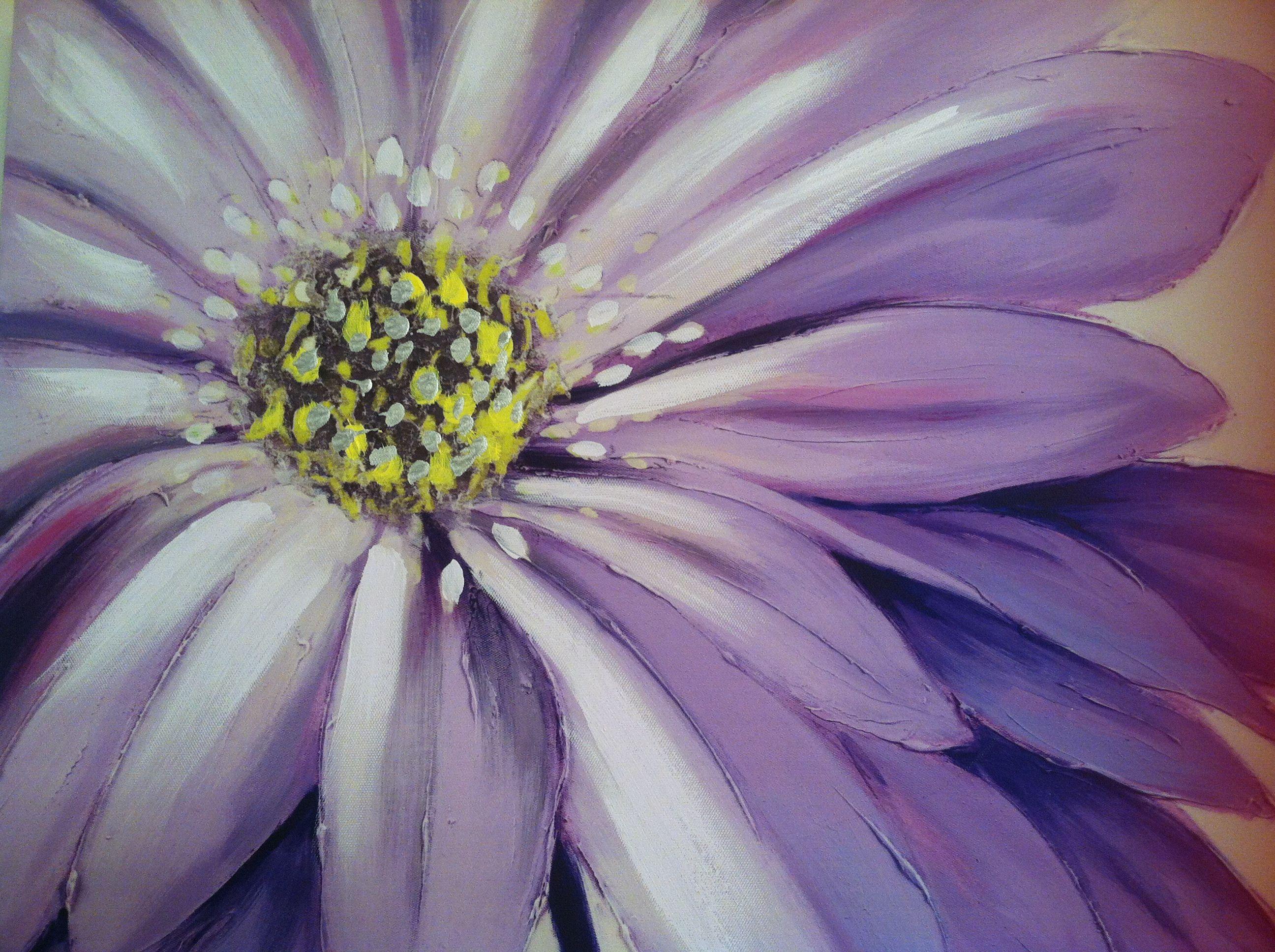 Flower painting easy flower painting flower painting
