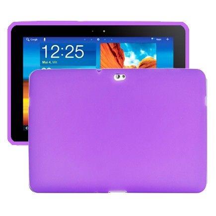 Soft Shell (Violetti) Samsung Galaxy Tab 10.1 P7500 Silikonisuojus