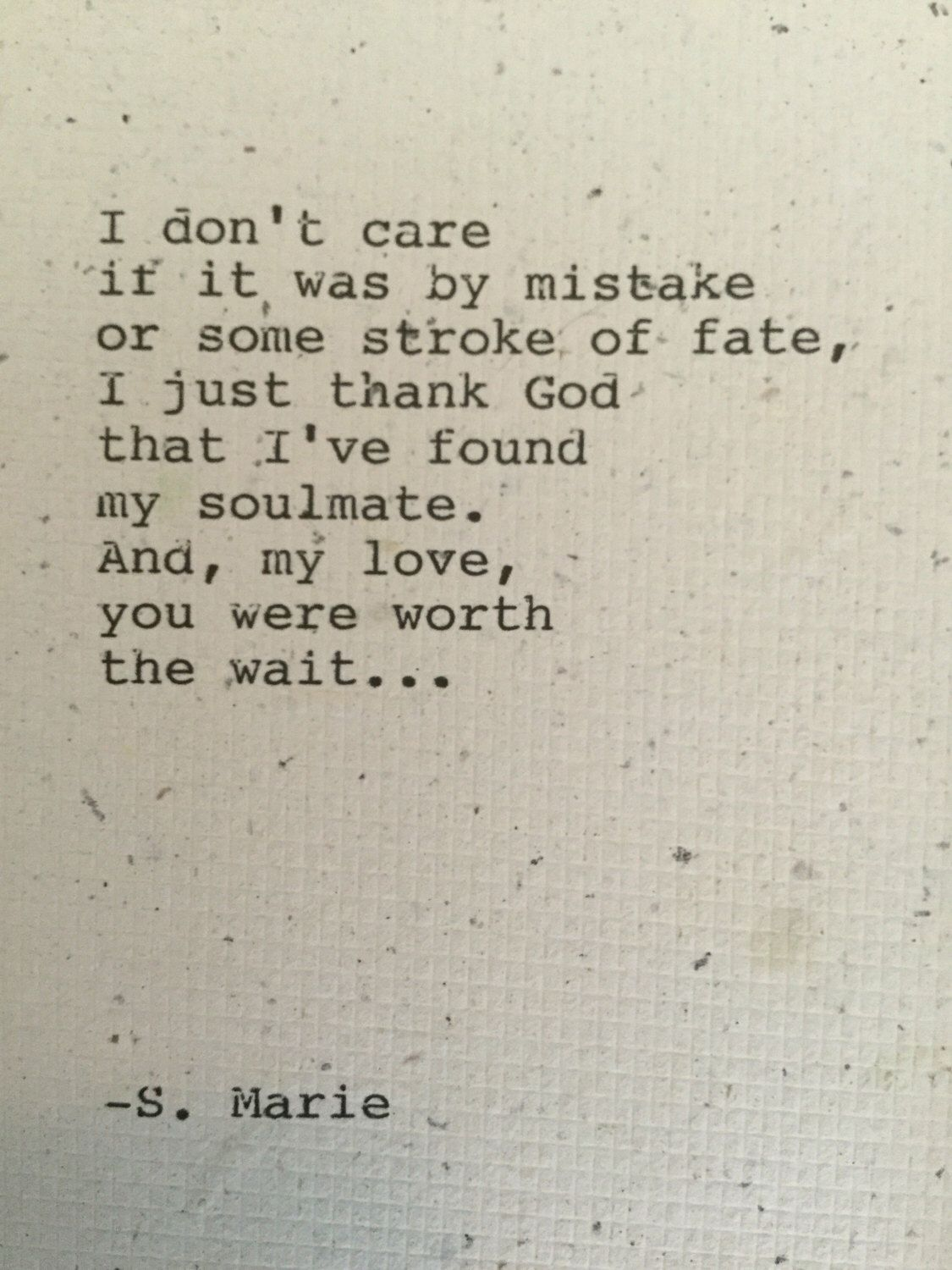 amateur poetry about love