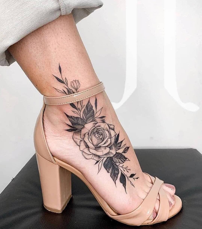 jooyfava 💙 Foot tattoos, Tattoos, Tattoo models