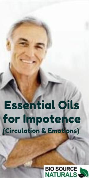 Sexual dysfunction essential oils