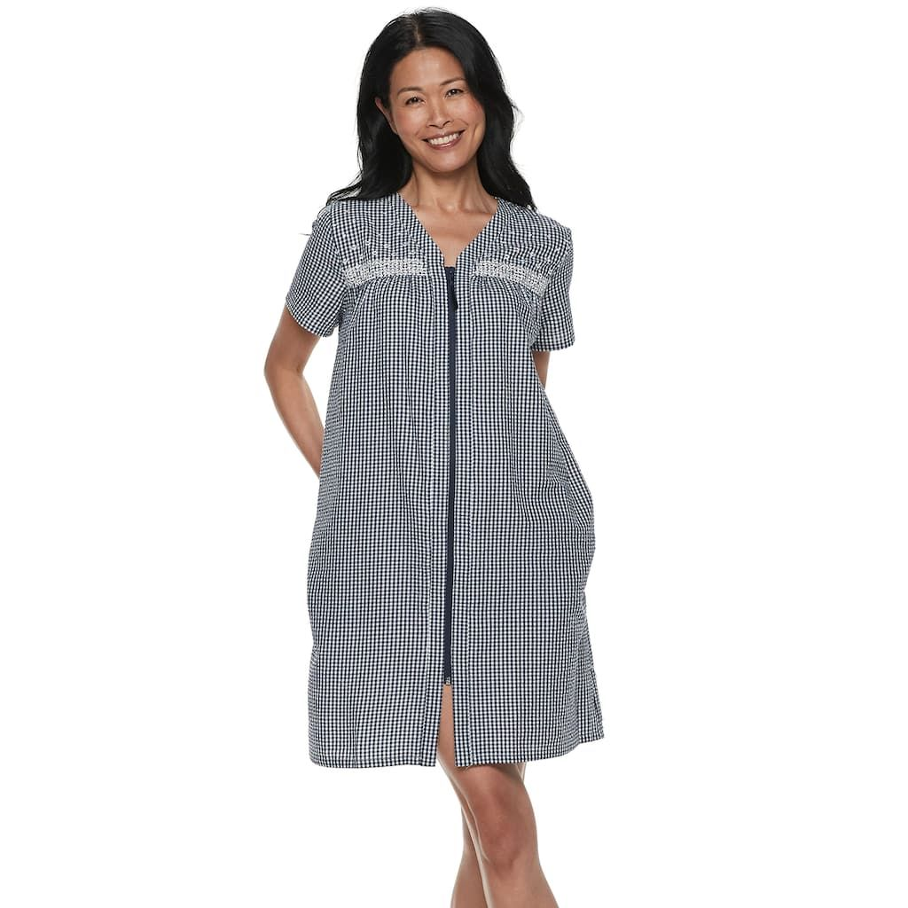 huge inventory search for genuine new authentic Women's Croft & Barrow® Seersucker Duster Robe | Products ...