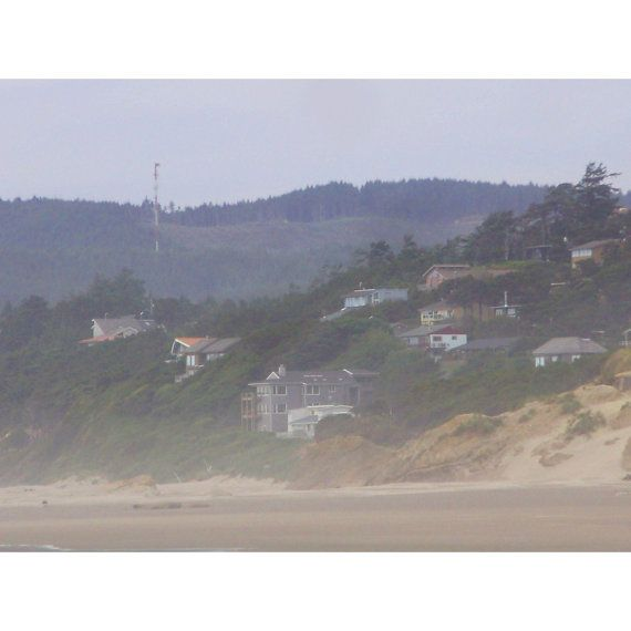 Little houses on the coast.  Oregon by InsidiousAperture on Etsy, $20.00