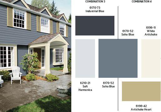 Exterior Paint Colours Exterior Colors Sico Style