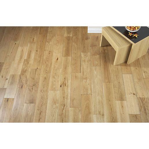 Wickes Medina Oak Solid Wood Flooring Wall Tiles Pinterest