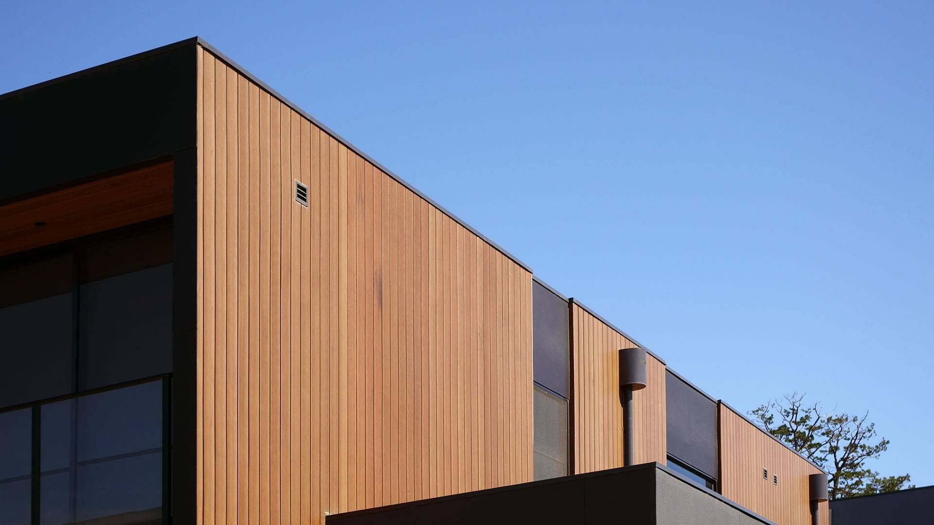 Innoclad Innowood Cladding Systems Outdoor Wall