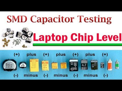 Testing SMD Capacitor with multimeter - YouTube | Circuit diagram