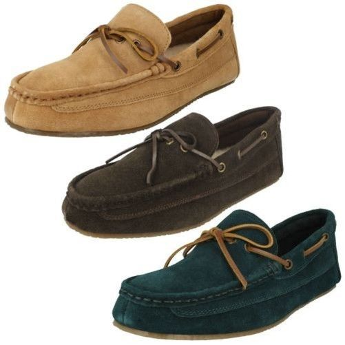 edd7914c307 Mens Clarks Moccasin Style Slippers  Crackling Glow   fashion  clothing   shoes  accessories  mensshoes  slippers (ebay link)