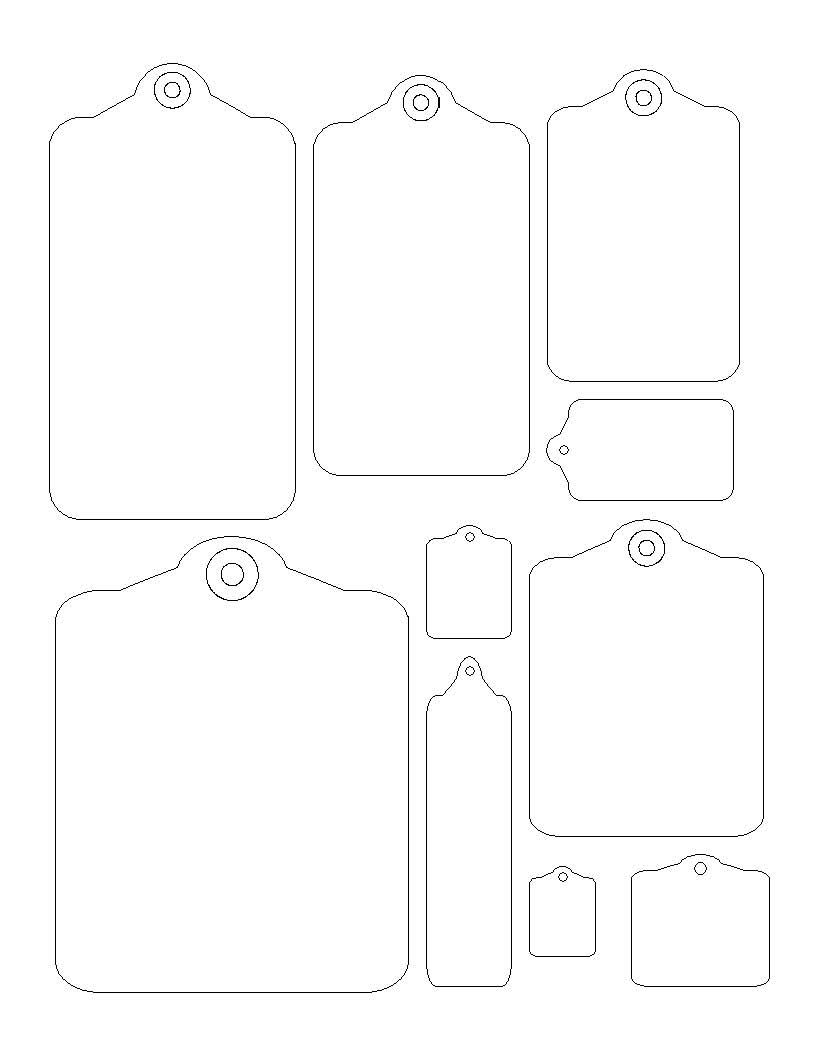 Gift Tag Template | labels and tags templates | Pinterest ...