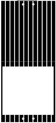 LARGE PRINTABLE SET- Listras Preto e Branco – Kit Completo com molduras para convites, rótulos para guloseimas, lembrancinhas e imagens!   Fazendo a Nossa Festa