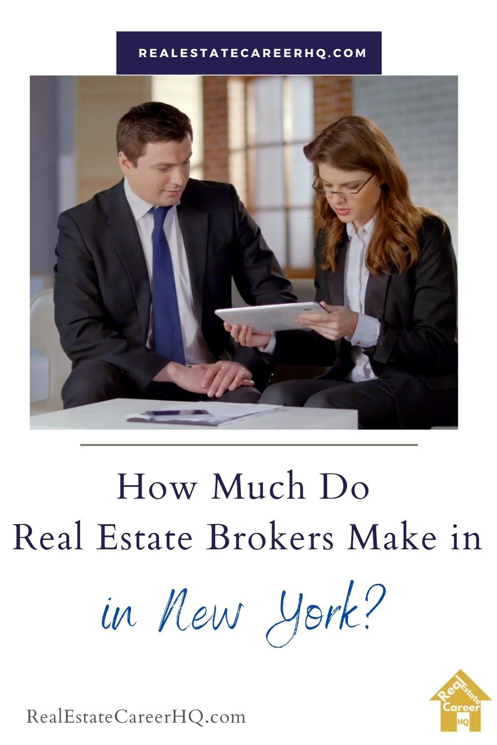 How Much Do Real Estate Brokers Make In New York Video In 2021 Real Estate Broker Real Estate Brokers