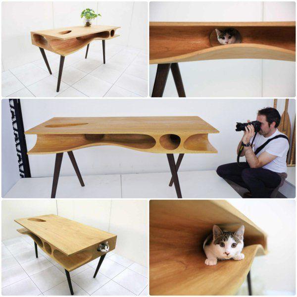 Ruan Hao CATable designer esstische für katzen Haustiermöbel