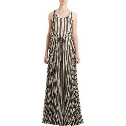 Parker//Vertical Stripe Dress