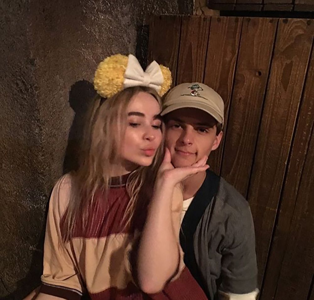 Sabrina Carpenter & Corey Fogelmanis Cuddling On New Year's Will Make You Ship Them Even More